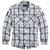 Men's #1 Skull Plaid Shirt   Harley-Davidson USA
