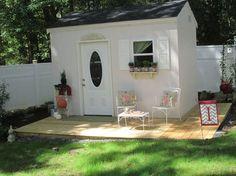 Custom built craft cottage filled with inspiration.