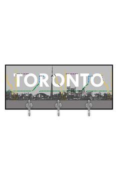 Green Leaf Art 'Toronto'  Multi Hook Wall Mount Rack | Nordstrom
