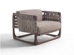 Sessel aus Holz mit Armlehnen BUNGALOW | Sessel - Riva 1920