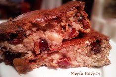 Συνταγές για διαβητικούς και δίαιτα: ΚΕΚΑΚΙ ΥΓΕΙΑΣ ( Νηστίσιμο) χωρίς ζάχαρη,χωρίς αλεύρι,χωρίς λάδι!! Healthy Desserts, Sweet Recipes, Banana Bread, French Toast, Healthy Living, Sweets, Diet, Vegan, Cookies