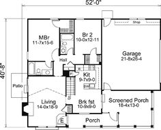 Edit description     1072 sq ft - House Plan 87800 at FamilyHomePlans.com   Pick a board              1072 sq ft