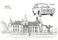 Laarne, château | by gerard michel