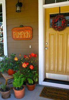 front door paint colors yellow house