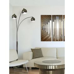 3 Arc Floor Lamp