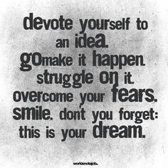 7. s'approprier - 7 #citations pour vous aider à #accomplir vos objectifs et vos #rêves... → #Inspiration