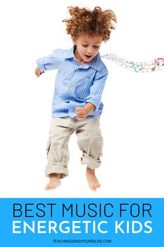 Looking for preschool music that helps energetic kids? This collection is perfect for getting those wiggles out, especially when stuck indoors! - Kids education and learning acts Movement Activities, Music And Movement, Songs For Toddlers, Kids Songs, Preschool Music, Preschool Activities, Teaching Music, Therapy Activities, Music For Kids