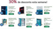 Confiram as #OfertasEspeciais desta semana!    Os 2 (dois) livros mais votados por vocês com 30% de desconto!  www.leinova.com.br