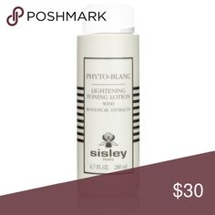 Sisley Phyto-Blanc Lightening Toning Lotion Sisley Phyto-Blanc Lightening Toning Lotion with botanical extracts. 6.7 fluid ounces. I love Sisley products but after a dew uses, decided to go with another toner. Retails for $60 Sisley Makeup