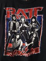 RATT T Shirt Vtg 70s Glam Heavy Metal Hard Rock Tour Band Concert