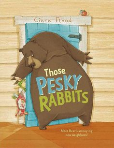 Picture book review of Those Pesky Rabbits by Ciara Flood