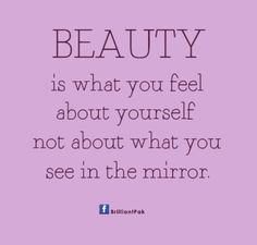 You are more beautiful than you think