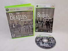 The Beatles Rock Band Game For Microsoft Xbox 360 2009 Complete Fully Tested
