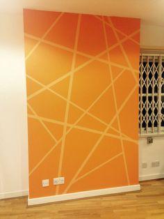 New design using Frog tape in Pylon Design Consultants office!