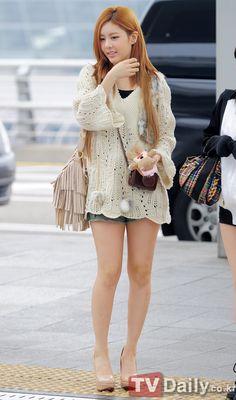 [TD포토] 티아라 큐리 '물오른 미모, 점점 예뻐지네~'