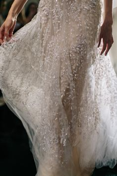 velvetrunway:  Reem Acra Fall 2016 Bridal Collection, Details posted by Fatalscroll