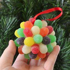 Goody, goody gum drops Christmas ornaments!