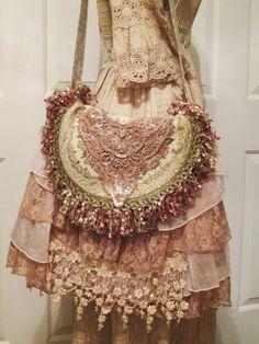 Boho Gypsy Tapestry Bag Vintage French by VintageVelvetGypsy, $125.00