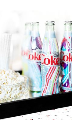 """Looking for a unique party favor for your guests? Lucky for you, Diet Coke made colorful bottles for you and millions of your closest friends. Get your hands on as many as you can while they're still around, and get ready to """"pop bottles"""" at your next soiree! #ITSMINE"""