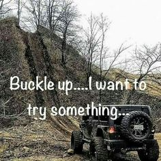 Hell yes! Only not with a jeep but with a real truck! Jeep Jokes, Jeep Humor, Car Jokes, Truck Memes, Truck Quotes, Funny Memes, Car Humor, Funny Quotes, Jeep Wrangler Jk