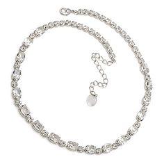 Bijuterii mireasa diademe coliere cercei cristale swarovski accesorii mirese Swarovski, Diamond, Silver, Jewelry, Fashion, Jewellery Making, Moda, Jewerly, Diamonds