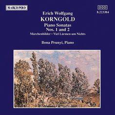 KORNGOLD: Piano Works-Ilona Prunyi-Marco Polo