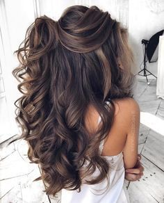 Quince Hairstyles, Loose Hairstyles, Braided Hairstyles, Wedding Hairstyles, Gorgeous Hairstyles, Ethnic Hairstyles, Bridal Hairstyle, Hairstyles Haircuts, Natural Hairstyles
