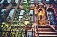 beautiful, brownstone in NYC