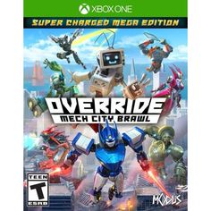 Get Override: Mech City Brawl release date (PC, Xbox One, cover art, overview and trailer. Override: mech city brawl is a mech-based brawler. Control gigantic robots and duke it out in Fantastic cityscapes. EPIC battles await with distinctive mechs in. Jeux Xbox One, Xbox 1, Xbox One Games, Ps4 Games, Playstation 5, Devil May Cry, Mega Man, Xbox One Nuevo, Ps4 Price