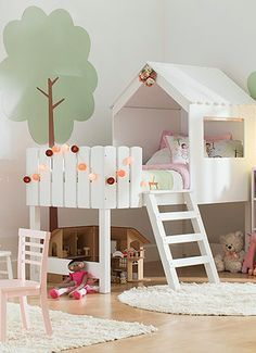 Things to Consider before Making Kids Playground Design Kids Room Design Design Kids making Playground Baby Bedroom, Girls Bedroom, Bedroom Decor, Childs Bedroom, Kid Bedrooms, Nursery Decor, Kid Beds, Bunk Beds, Kura Bed