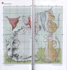 Gallery.ru / Фото #59 - The world of cross stitching 185+M.Sherry-Stitcher's Diary 2 - tymannost