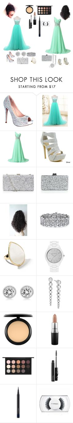 """Untitled #44"" by annayaboo ❤ liked on Polyvore featuring beauty, Lauren Lorraine, Celeste, Edie Parker, Poetic Justice, Palm Beach Jewelry, Ippolita, MICHAEL Michael Kors, Michael Kors and MAC Cosmetics"