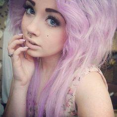 tumblr makeup | scene makeup | Tumblr// her eyelashes are PERFF