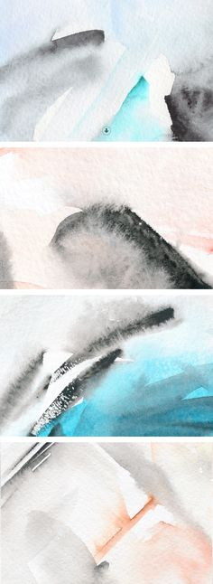 Watercolor Graphics Pack by Pixelwise Co. on @creativemarket