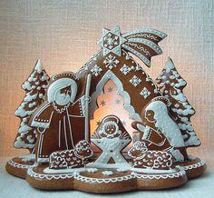 Christmas Food Gifts, Christmas Gingerbread, Christmas Desserts, Gingerbread Cookies, Christmas Cookies, Holiday Crafts, Christmas Holidays, Christmas Wreaths, Xmas
