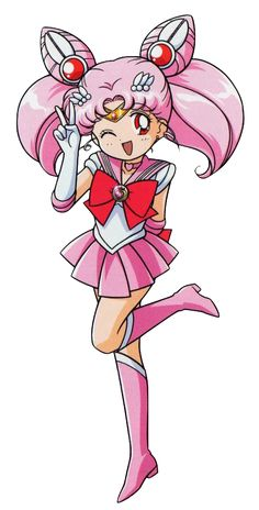 Sailor Chibi Moon by marco albiero