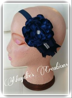Navy blue headband