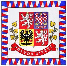 Symboly současné České republiky «Vlast.cz Coat Of Arms, Czech Republic, Roman, Indie, Harry Potter, Banner, Bible, Vintage, Tatoo