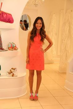 Image result for aimee song wearing nanette lepore