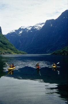 Kayak - Fjord Paddle (3 hrs) Photo: F. Loftesnes