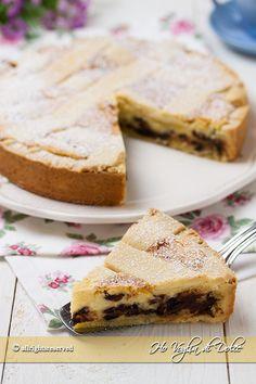 Crostata al mascarpone, ricotta e cioccolata ricetta facile e golosissima. Una…