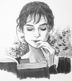 Hermoso dibujo de Keira Knightley como Lizzie Bennet en Orgullo y prejuicio. Orgullo y prejuicio Pride And Prejudice 2005, Pride And Prejudice Elizabeth, Pride And Prejudice Quotes, Becoming Jane, Book Art, Jane Austen Books, Fan Art, Illustration, Woman Reading