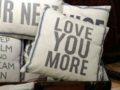 Fabulous & fun pillows from Simply...Art and Framing.