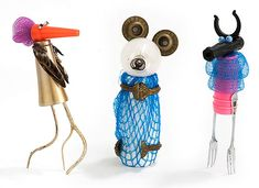Trash Trophies by Carolien Adriaansche