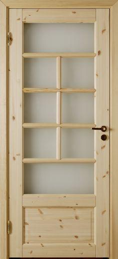 Atle 4 Typ 113 - Interior door Made by GK Door, Glommersträsk, Sweden.