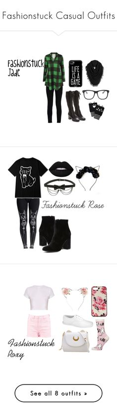 """""""Fashionstuck Casual Outfits"""" by dita212 ❤ liked on Polyvore featuring STELLA McCARTNEY, rag & bone, Casetify, White + Warren, Forever 21, homestuck, Fashionstuck, JadeHarley, WithChic and Witchery"""