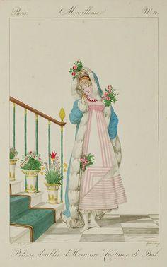 Dames a la Mode: Incroyables et merveilleuses de 1814