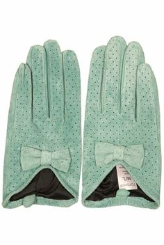 Duck egg blue suede bow