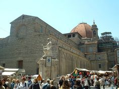 Church of San Lorenzo with its Unfiinished Facade. c. 1424 | Flickr - Photo Sharing!