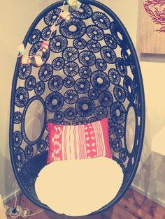 Cool egg chair!